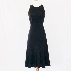 LAUREN Ralph Lauren Cutaway Shoulder Flare Dress